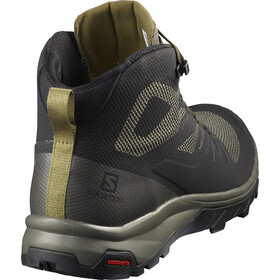 Salomon OUTline Mid GTX Shoes Herren black/beluga/capers